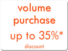 volume purchase discount